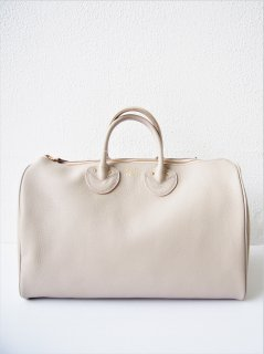YOUNG & OLSEN / EMBOSSED LEATHER BOSTON M(BEIGE)