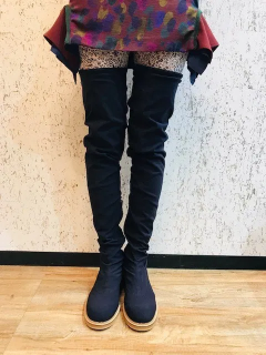 <img class='new_mark_img1' src='https://img.shop-pro.jp/img/new/icons6.gif' style='border:none;display:inline;margin:0px;padding:0px;width:auto;' />THE Dallas / stretch thigh boots