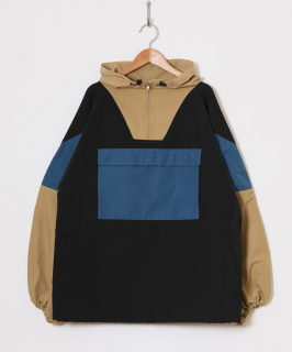 <img class='new_mark_img1' src='https://img.shop-pro.jp/img/new/icons6.gif' style='border:none;display:inline;margin:0px;padding:0px;width:auto;' />HOLIDAY / WIND SHORT ANORAK ・BLACK