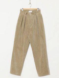 <img class='new_mark_img1' src='https://img.shop-pro.jp/img/new/icons6.gif' style='border:none;display:inline;margin:0px;padding:0px;width:auto;' />HOLIDAY / CORDUROY TUCK PANTS・BEIGE