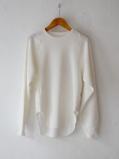 <img class='new_mark_img1' src='https://img.shop-pro.jp/img/new/icons6.gif' style='border:none;display:inline;margin:0px;padding:0px;width:auto;' />JANE SMITH / TINY SHOULDER PULLOVER・WHITE