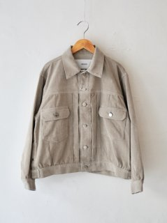 <img class='new_mark_img1' src='https://img.shop-pro.jp/img/new/icons6.gif' style='border:none;display:inline;margin:0px;padding:0px;width:auto;' />JANE SMITH / TRUCKER JACKET・FAWN BEIGE