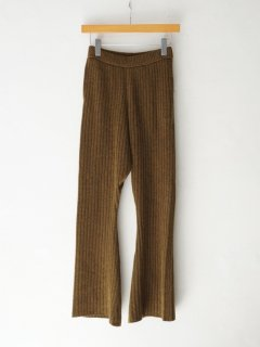 <img class='new_mark_img1' src='https://img.shop-pro.jp/img/new/icons6.gif' style='border:none;display:inline;margin:0px;padding:0px;width:auto;' />DOMENICO+SAVIO / KNIT FLARE PANTS ・KHAKI