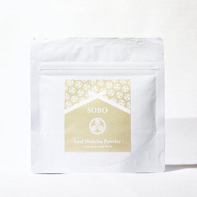 """蒼氓オリジナル<p></p>""""Leaf Hojicha Powder""""<p></p>宇治ほうじ茶パウダー<p></p>"""