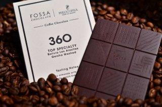 コーヒーチョコレート 50g【Bolivia Geisha使用】