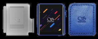 SHANLING デジタルオーディオプレーヤー 専用レザーケース&クリップケース同梱 ブルー M0 BLLC set