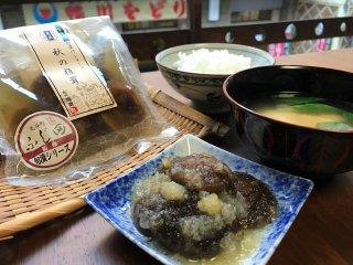 椎茸のお惣菜