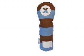 X番フェアウェーウッド用ヘッドカバーSB 帆布キャンバスシリーズ ボーダー