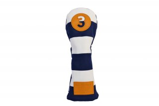 3番フェアウェーウッド用BW 帆布キャンバスシリーズ ボーダー