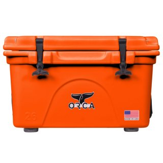 <img class='new_mark_img1' src='//img.shop-pro.jp/img/new/icons8.gif' style='border:none;display:inline;margin:0px;padding:0px;width:auto;' />ORCA Coolers 26 Quart -Blaze Orange-