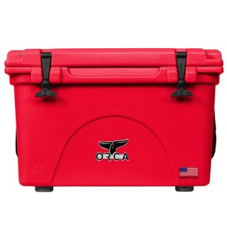 <img class='new_mark_img1' src='//img.shop-pro.jp/img/new/icons8.gif' style='border:none;display:inline;margin:0px;padding:0px;width:auto;' />ORCA Coolers 40 Quart -Red-