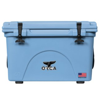 ORCA Coolers 40 Quart -Light Blue-