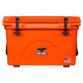 <img class='new_mark_img1' src='//img.shop-pro.jp/img/new/icons8.gif' style='border:none;display:inline;margin:0px;padding:0px;width:auto;' />ORCA Coolers 40 Quart -Blaze Orange-