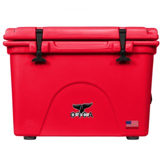 ORCA Coolers 58 Quart -Red-