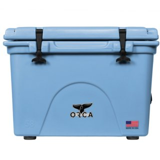 <img class='new_mark_img1' src='//img.shop-pro.jp/img/new/icons8.gif' style='border:none;display:inline;margin:0px;padding:0px;width:auto;' />ORCA Coolers 58 Quart -Light Blue-