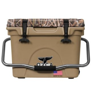 ORCA Coolers 20 Quart -MOSSY OAK BLADES Tan-