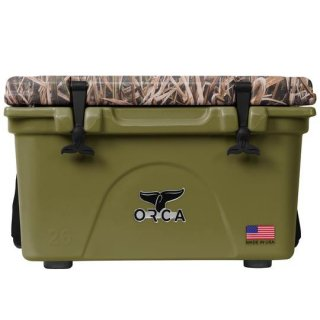 ORCA Coolers 26 Quart -MOSSY OAK BLADES Green-