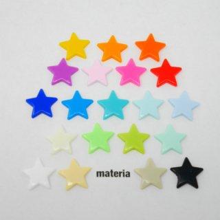 スター型 KAMスナップボタン 【ツヤあり】 T5 12.4� プラスナップ プラスチック製スナップボタン