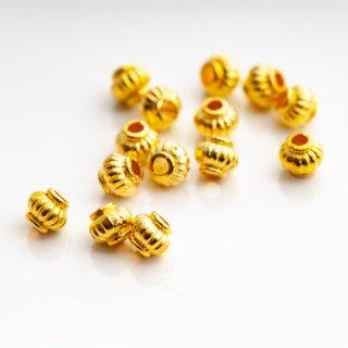 メタルスペーサー ゴールド 5mm 20個 メタルビーズ