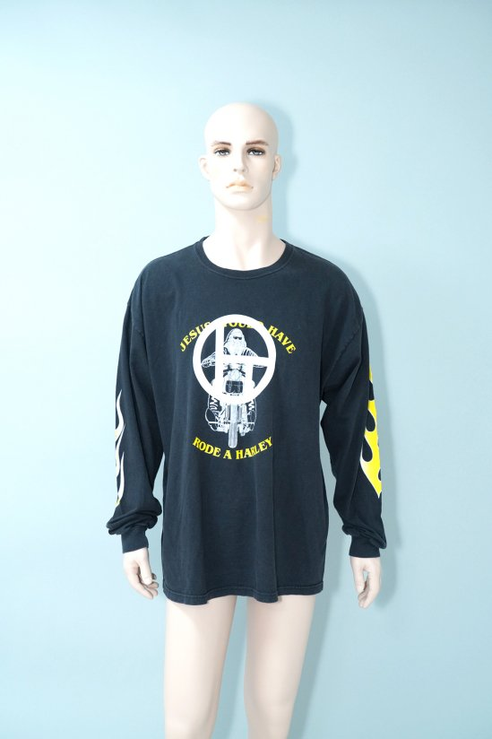 Dogs Recycle Christian Motorcycle Club L/S T-Shirt