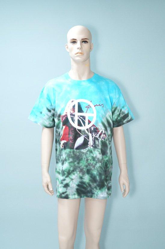 Dogs Recycle Janis Joplin 00' Tie-dye T-Shirt