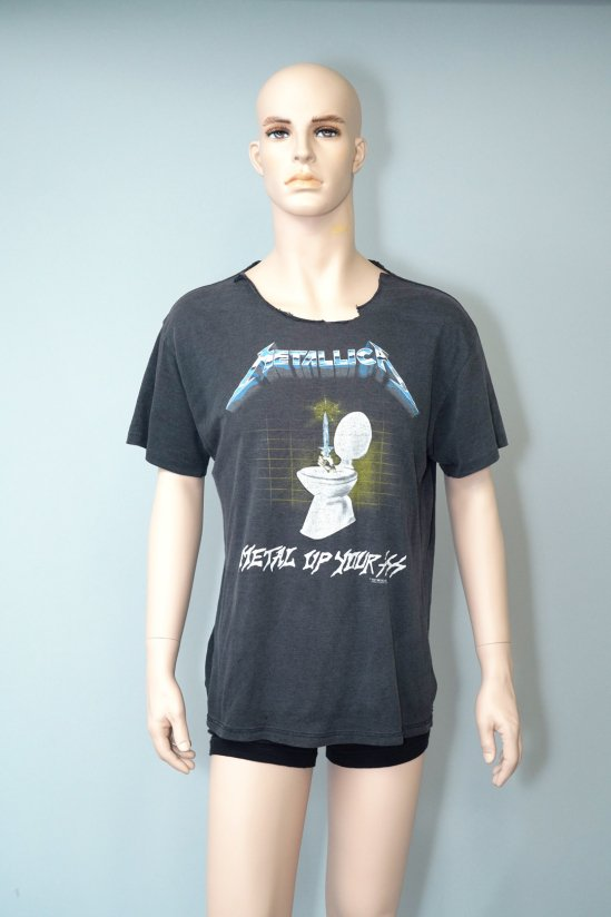 Vintage Metallica Metal Up Your Ass 87' T-Shirt