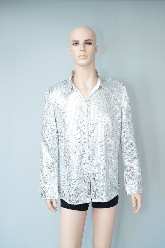 Vintage Silver Spangles L/S Shirt