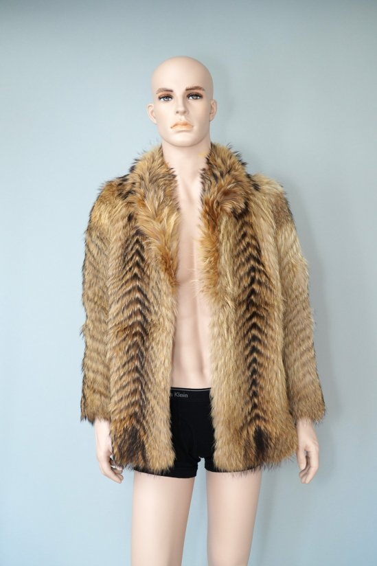 Vintage Emba Raccoon Fur Coat