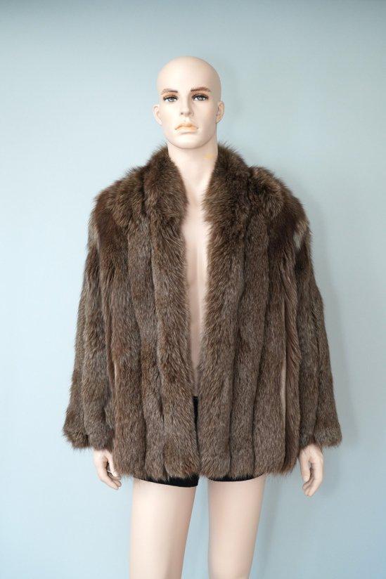Vintage SAGA Fox Brown Fur Coat