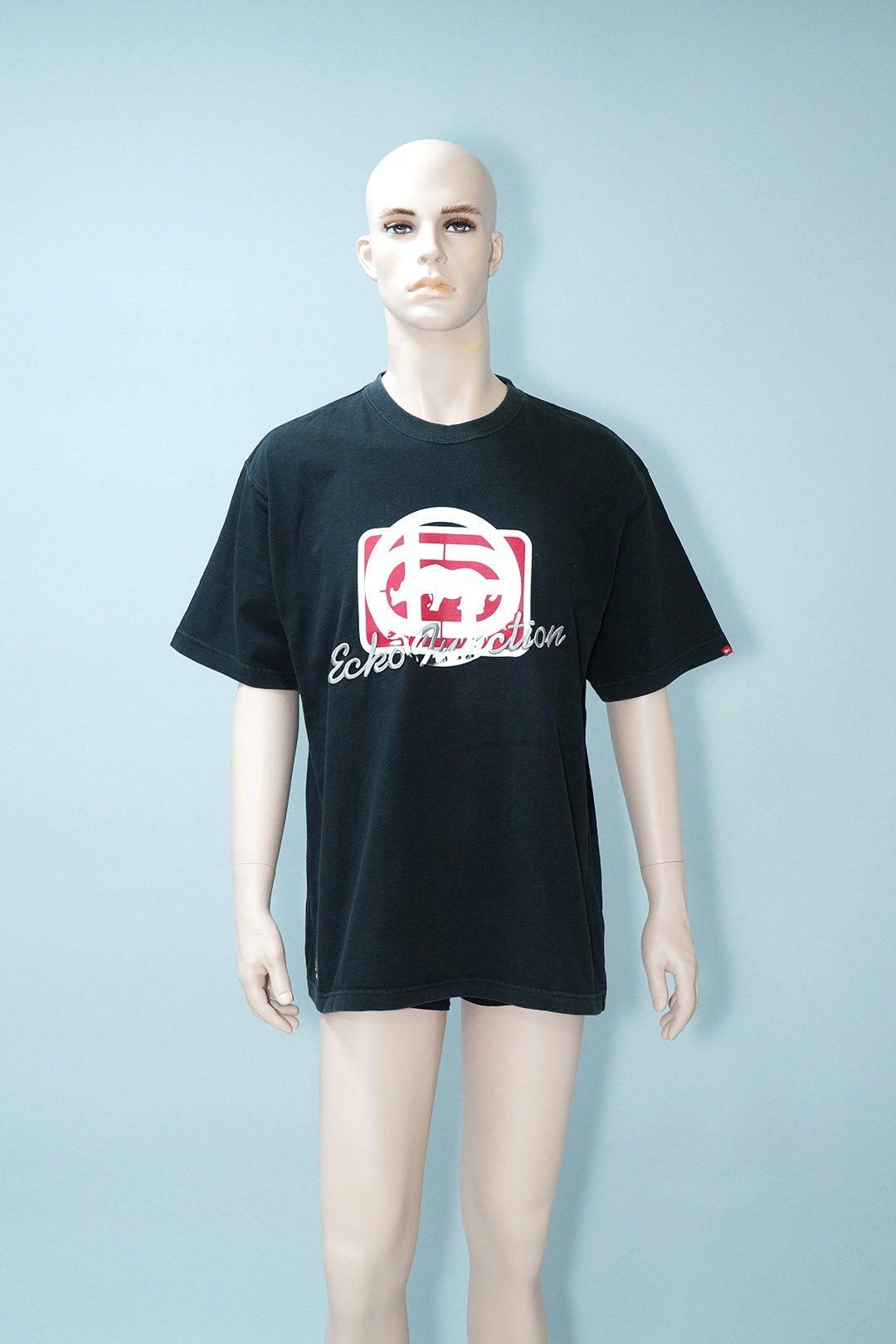 Vintage Ecko Function Classic Logo Black T-Shirt