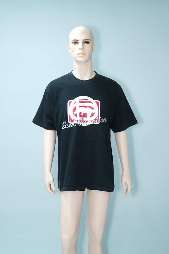 Dogs Recycle Ecko Function Logo Black T-Shirt