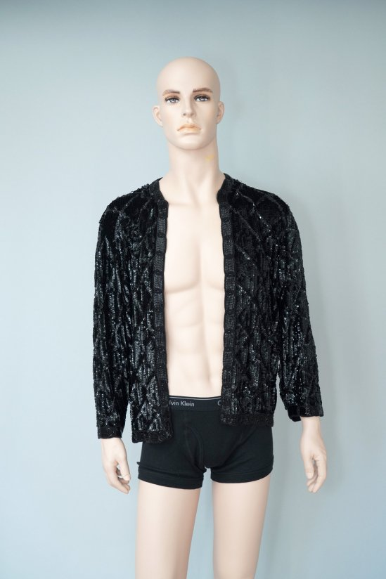 Vintage Black Spangle Jacket