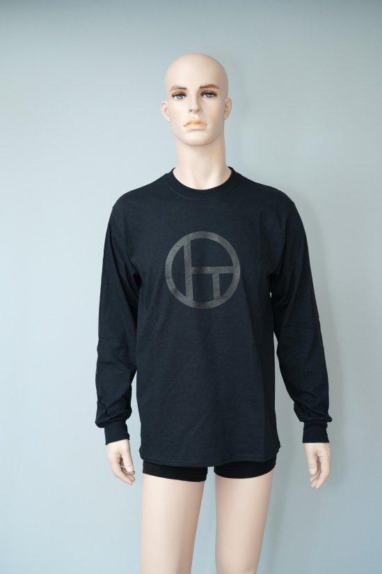 Dogs Logo L/S T-shirt with TOGA VIRILIS (Black)