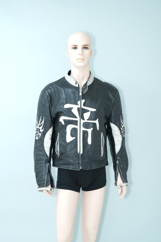 Vintage Mikado Biker Leather Jacket