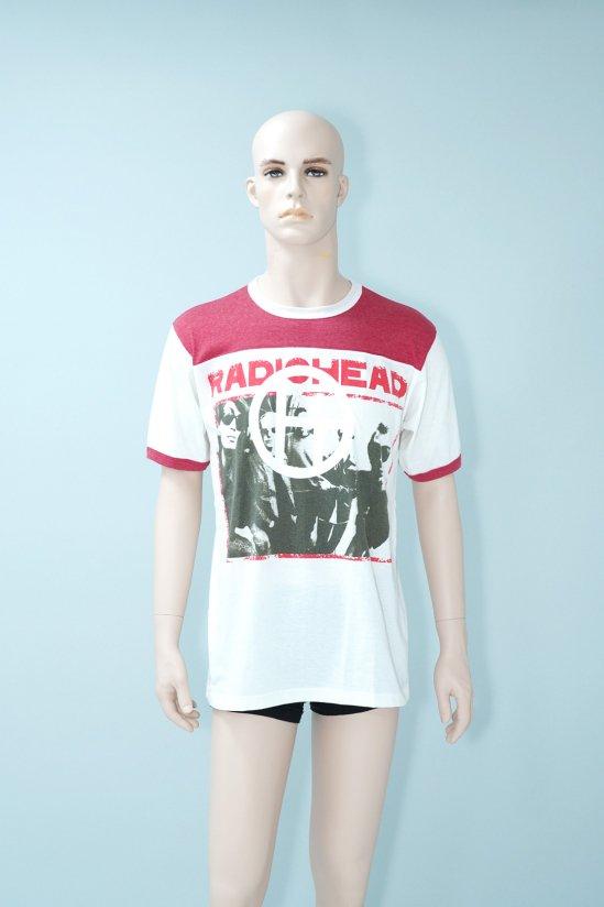 Dogs Recycle Radiohead Football T-Shirt