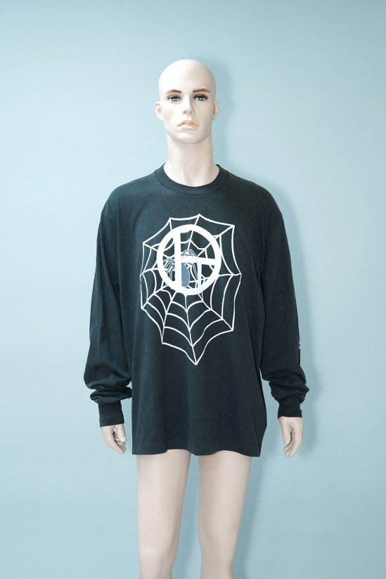 Dogs Recycle Spider Web L/S T-Shirt