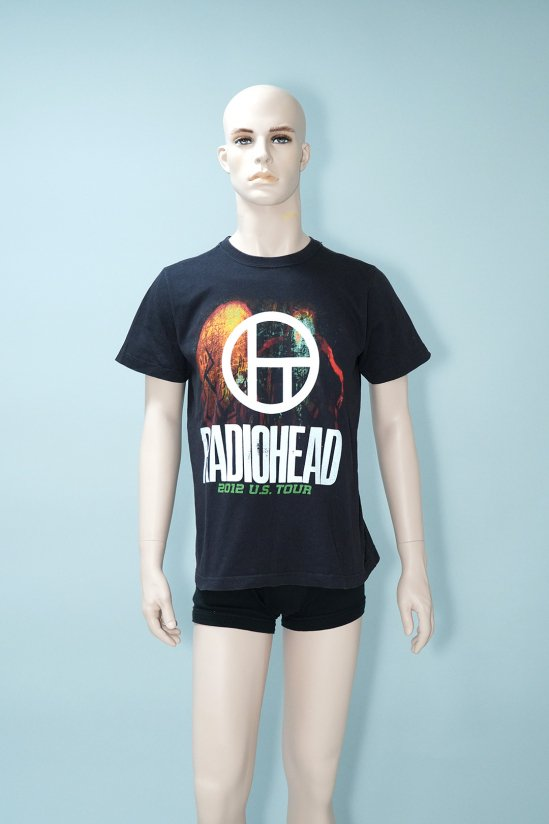 Dogs Recycle Radiohead 2012 Tour T-Shirt