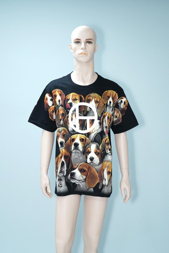 Dogs Recycle Many Beagles T-Shirt