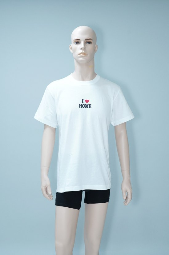 I Love Home T-Shirt (White)