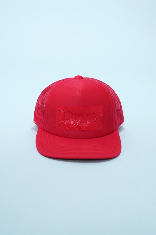 Dogs Remake No.142 'Painted Dogs Cap' (Red)