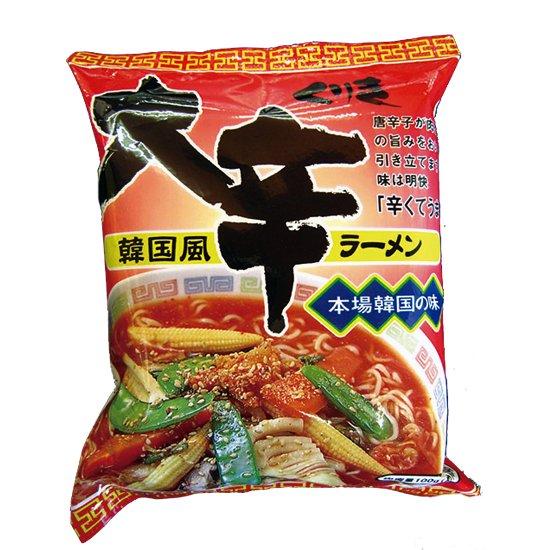 7位:栗木商店『韓国風 大辛ラーメン(福岡)』