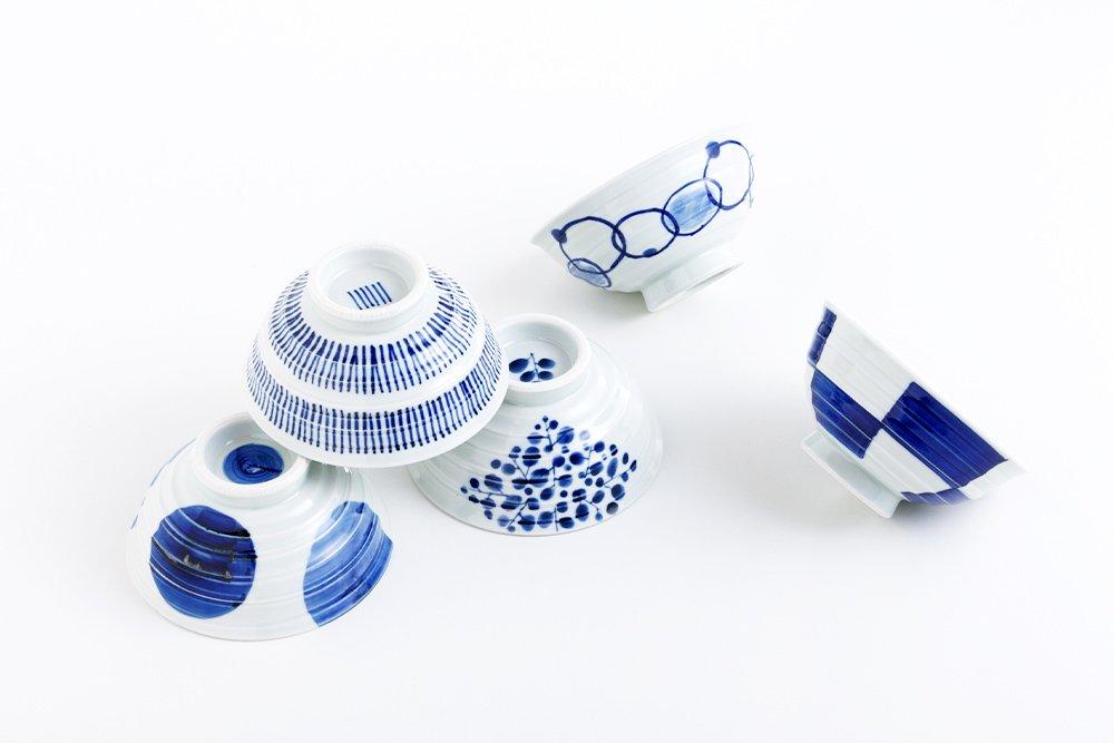 呉須 お茶漬け碗 8種類