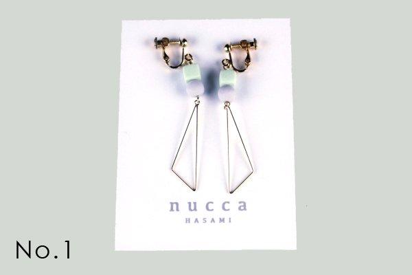 nucca JIYUシリーズ イヤリング/ゴールド