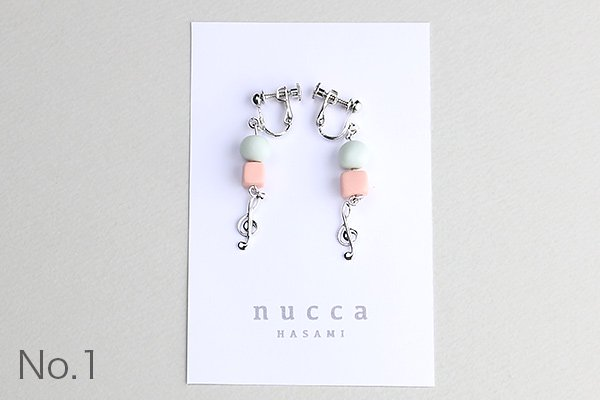 nucca JIYUシリーズ イヤリング/シルバー
