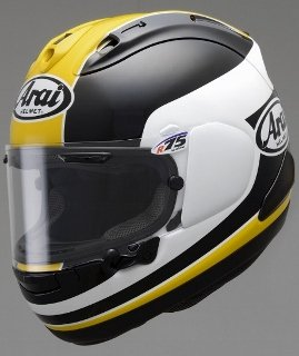 【TairaRacing】TAIRA REPLICA HELMET RX-7X YELLOW (タイラレプリカヘルメット)