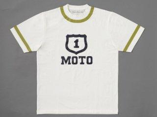 【TairaRacing】タイラレーシングオリジナル モトTシャツ(ホワイト)