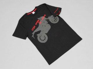【HUSQVARNA】ハスクバーナNUDA900 Tシャツ・ブラック (ハスクバーナ)