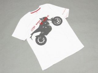 【HUSQVARNA】ハスクバーナNUDA900 Tシャツ・ホワイト (ハスクバーナ)