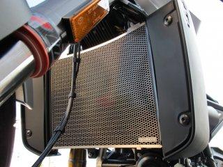 【HUSQVARNA】VITPILEN 701 用ラジエターコアプロテクター ブラック(ハスクバーナ)