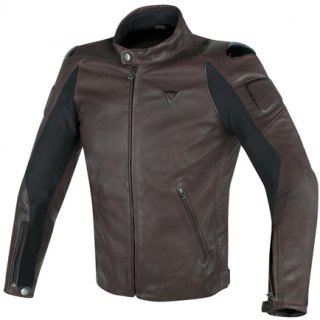 【OUTLET 20%OFF】【DAINESE】 STREET DARKER LEATHER JACKET(ダイネーゼ)